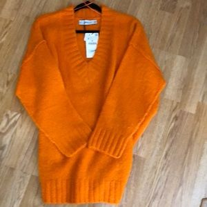 Zara v neck sweater